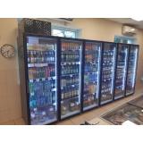 Холодильная камера на 6 стеклянных дверей КОЛОВРАТ 6