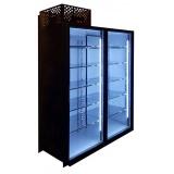 Холодильная камера низкотемпературная на 2 стеклянных двери КОЛОВРАТ 2