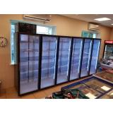 Холодильная камера низкотемпературная на 6 стеклянных дверей КОЛОВРАТ 6