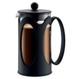 Кофейник с прессом «Кения Нью» Bodum 10685-01,  стекло, пластик,  1л