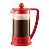 Кофейник с прессом «Бразилия» Bodum 10948-294,  стекло, пластик,  350мл