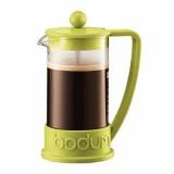 Кофейник с прессом «Бразилия» Bodum 10948-565,  стекло, пластик,  350мл