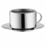 Набор кофейный (2пары) Casalinghi 810, сталь, 150мл