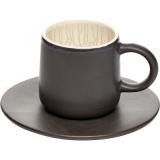 Пара чайная коническая «День и ночь» Dymov 286405, керамика, 200мл