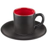 Пара кофейная «Кармин» Dymov 265408, керамика, 100мл