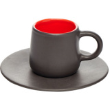 Пара кофейная коническая «Кармин» Dymov 287408, керамика, 200мл