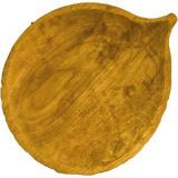 Блюдо «Осина» светлый дуб Fuga 11.06.8.4-03,  H=30, L=250, B=205мм,