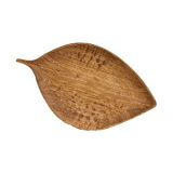 Блюдо «Береза» дуб, махагон Fuga 11.06.2.3-05,  H=3, L=53, B=31см,