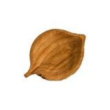 Блюдо «Ольха» светлый дуб Fuga 11.06.8.6-03,  H=30, L=185, B=130мм,