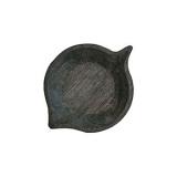 Блюдо «Ольха» темный дуб Fuga 11.06.8.6-01,  H=30, L=185, B=130мм,