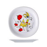 Тарелка десертная «Бэби Лиза» G. Benedikt KVA22191.056, фарфор, D=18, 4см