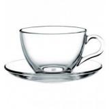 Пара чайная Neman 9988, стекло, 200мл