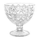 Креманка «Мальва Волна» Osz 1580,  стекло,  300мл
