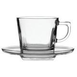 Пара чайная Pasabahce 95307/b, стекло, 215мл