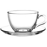 Пара чайная Pasabahce 97948/b, стекло, 180мл