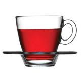Пара чайная «Аква» Pasabahce 95040/b, стекло, 215мл