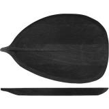 Блюдо д/подачи «Лист» PPwood Q503V-06B,  дуб,