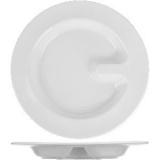 Тарелка д/системы табл. питания с делением «Актив» Suisse Langenthal ACT2326, фарфор, D=26см