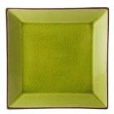 Тарелка квадратная «Сохо» Utopia K90028, керамика, L=25, B=25см