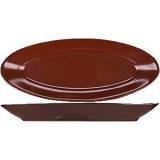 Блюдо овал. «Шоколад» Борисовская Керамика ФРФ88801637, фарфор, L=28, B=11, 5см