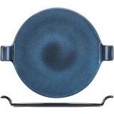 Блюдо «Млечный путь голубой» Борисовская Керамика ФРФ88803364, фарфор, D=250, H=35мм