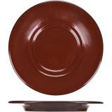 Блюдце «Шоколад» Борисовская Керамика ФРФ88801437, фарфор, D=155, H=20мм