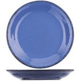 Блюдце «Синий крафт» Борисовская Керамика КРФ00012584, керамика, D=15, 5см