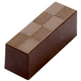 Форма д/шоколада «Брусок» 18шт Matfer 383003