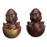 Форма д/шоколада «Два цыпленка» 4шт Matfer 382006