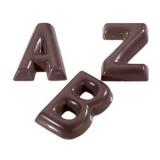 Форма д/шоколада «Буквы A - Z» 26шт Matfer 380156