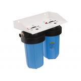 Фильтр магистральный atoll I-21BB-e ECO. Фильтр двухступенчатый для холодной воды 2хBig Blue 20 дюйм (бе