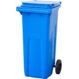 Бак мусорный из пластмассы МКТ 120 (120л, синий)