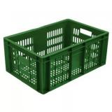 Ящик для колбасно- мясной продукции серии 200 модель 201 зеленый