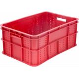 Ящик для колбасно- мясной продукции серии 200 модель 202 красный
