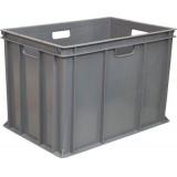 Ящик для колбасно- мясной продукции серии 200 модель 203-2 серый