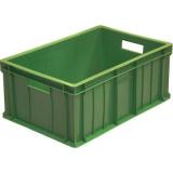 Ящик для колбасно- мясной продукции серии 200 модель 204 зелёный