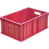 Ящик для колбасно- мясной продукции серии 200 модель 204 красный