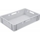 Ящик для колбасно- мясной продукции серии 200 модель 205 (Е1) белый морозостойкий