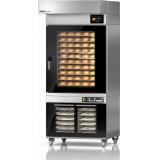 MIWE M.W.GmbH Конвекционная хлеб. печь тип MIWE econo, мод. ЕС 10.0604 (FP, навес с конд., расст.)