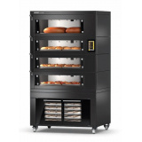 MIWE M.W.GmbH Многоэтажная хлеб. эл. печь, тип MIWE condo, мод. CO 2.0806 (FP,подст.,навес с конд.)
