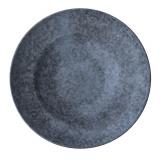 Тарелка для пасты «Органика»; керамика; D=27см; серый