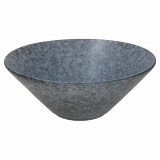 Салатник «Органика»; керамика; 1,25л; D=22,H=9см; серый