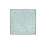 Тарелка квадратная «Органика»; фарфор; L=24,B=24см; голуб.