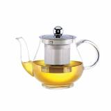 """Чайник """"Каркаде"""" 1,0л боросиликатное стекло с металлическим фильтром QXA105-10"""