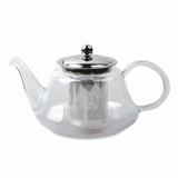 """Чайник """"Мелисса"""" 0,8л боросиликатное стекло с металлическим фильтром QXA205-08"""