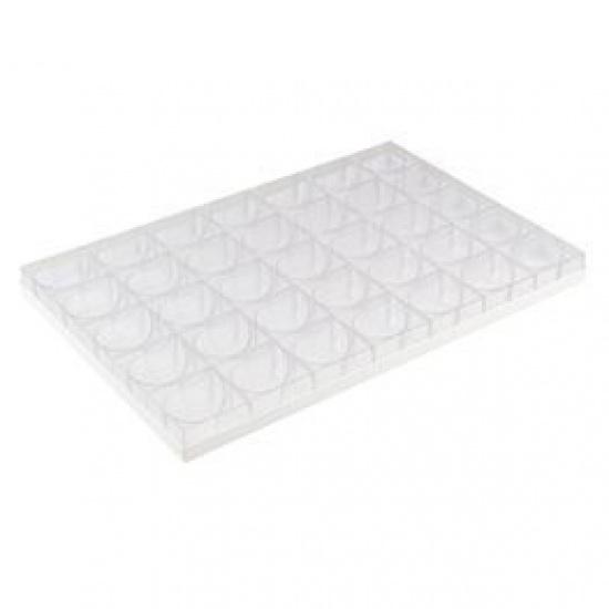 Форма для пирожных paderno запятая пласт. 47652-05 - 1