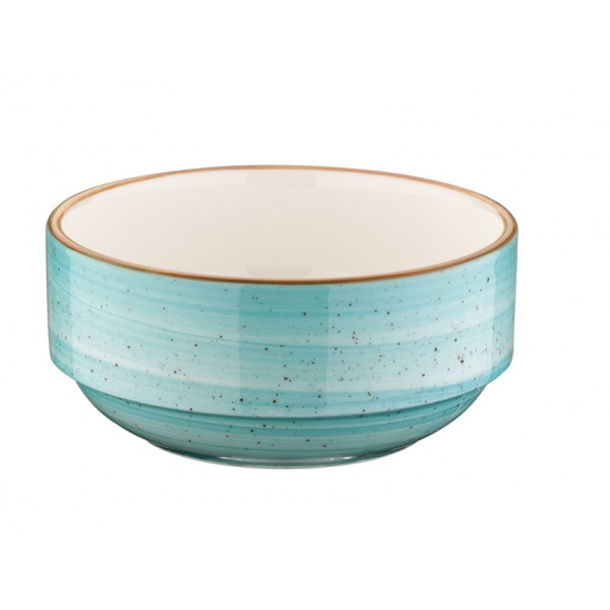 Bonna aqua aura салатник aaq bnc 06 jo (штабелируемый, 6 см, голубой) - 1