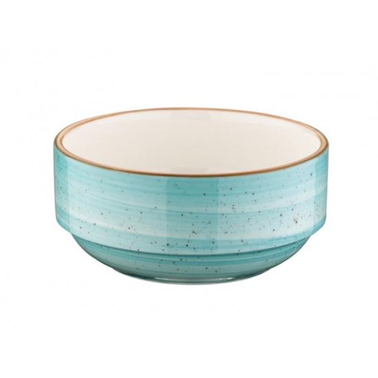 Bonna aqua aura салатник aaq bnc 12 jo (штабелируемый, 12 см, голубой) - 1