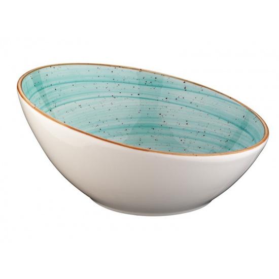 Bonna aqua aura салатник aaq vnt 16 ks (скошен., 16 см, голубой) - 1