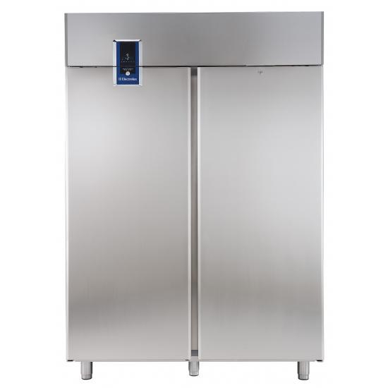 Двухдверный холодильный шкаф 1430 л, -2° +10°c, цифровой дисплей, н/сталь aisi 304, для работы с выносным агрегатом - 1